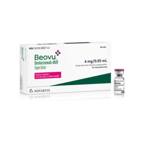 BEOVU ® (brolucizumab-dbll) injection, for intravitreal injection.