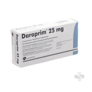 DARAPRIM ® (pyrimethamine) 25-mg Scored Tablets