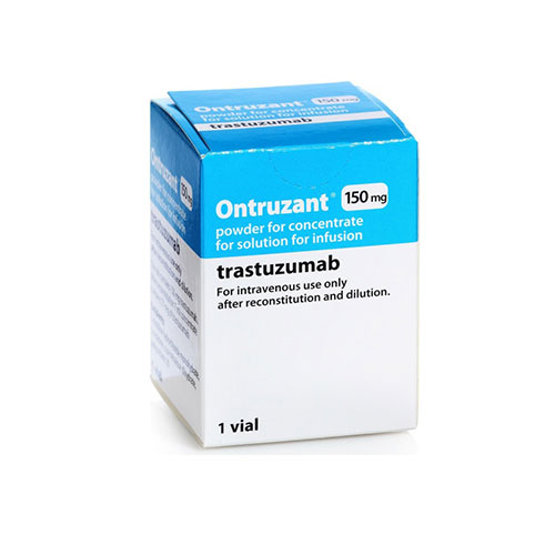 ONTRUZANT (trastuzumab-dttb) for injection, for intravenous use.