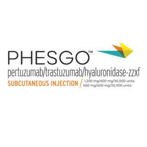 PHESGO (pertuzumab, trastuzumab, and hyaluronidase-zzxf) injection, for subcutaneous use