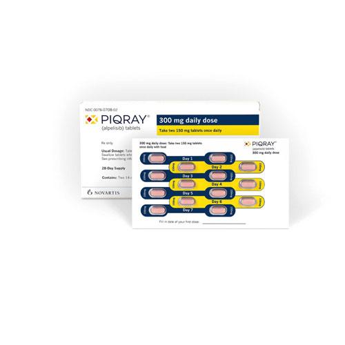 PIQRAY ® (alpelisib) 50 mg film-coated tablets