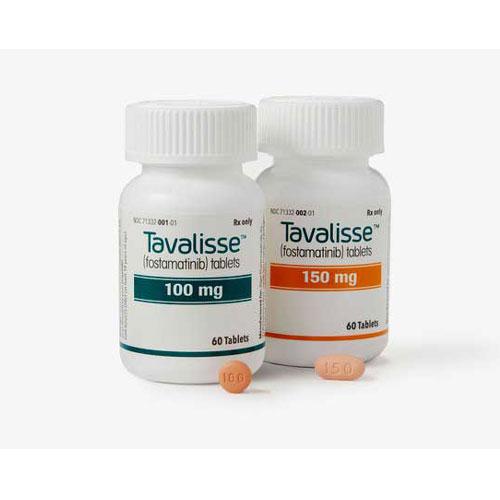 TAVALISSE ™ (fostamatinib disodium hexahydrate) tablets, for oral use