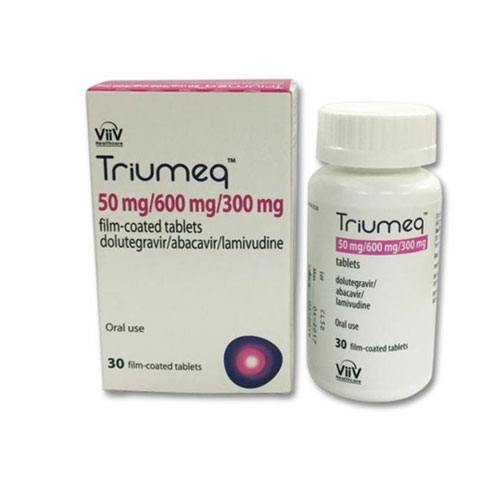TRIUMEQ (abacavir, dolutegravir, and lamivudine) tablets, for oral use.