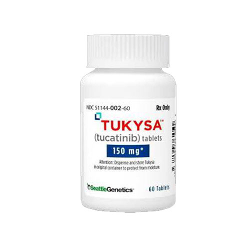 TUKYSA ™ (tucatinib) tablets, for oral use.