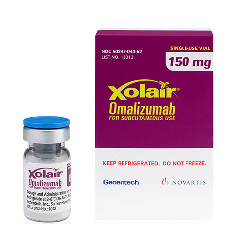 XOLAIR ® (omalizumab) for injection