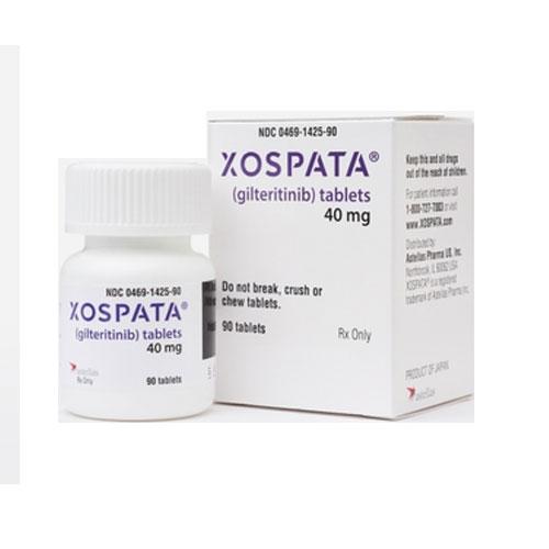 XOSPATA ® (gilteritinib) tablets, for oral use.