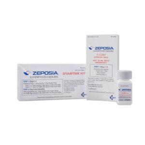 ZEPOSIA ® (ozanimod) capsules, for oral use.